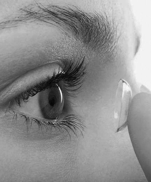 Kontaklinser på øyet